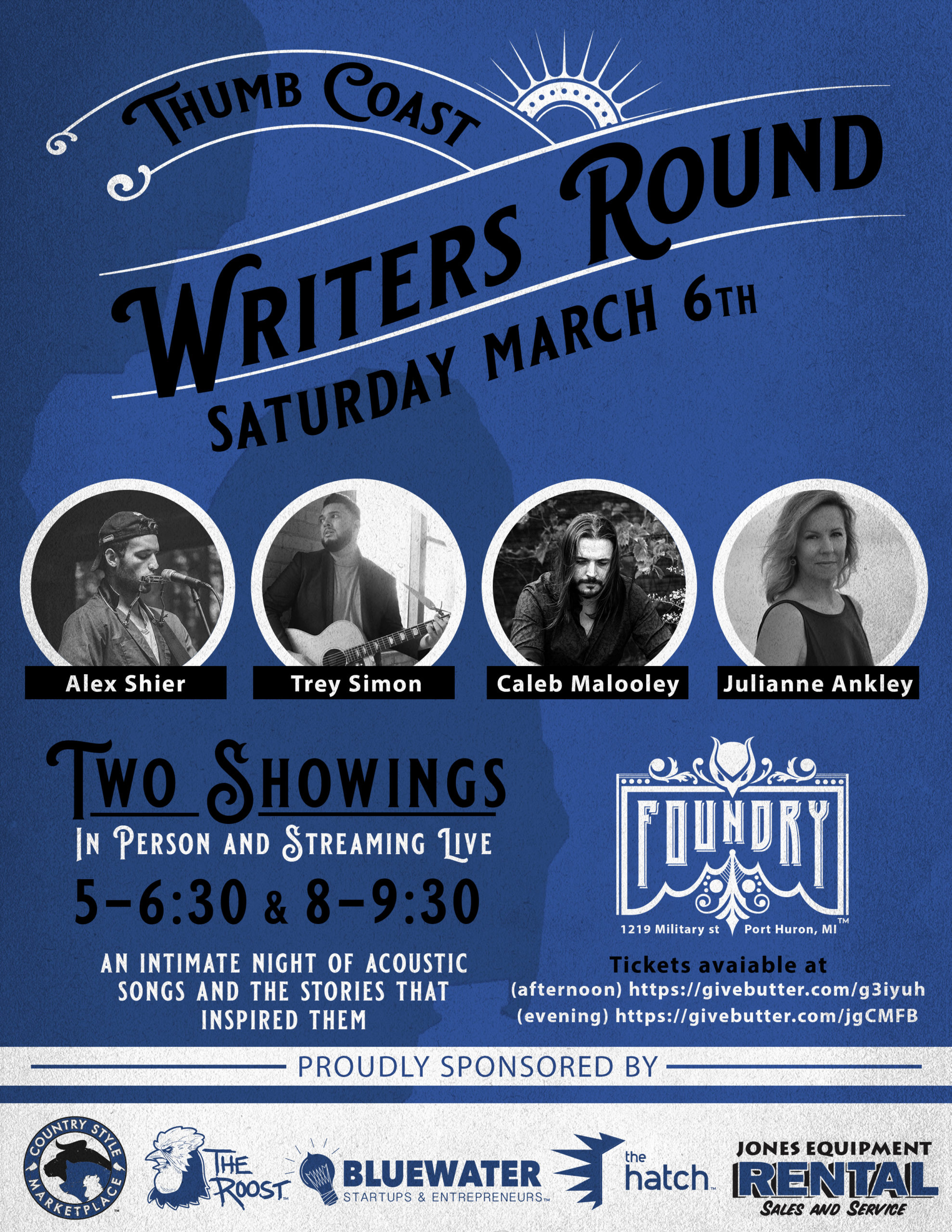 thumb coast writers round poster image and details